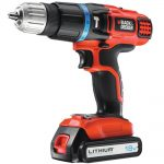 Black & Decker EGBL88K 18v Combi Drill 1.3Ah Kit