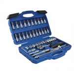 BlueSpot 01530 46 Piece 14in Square Drive Socket and Bit Set