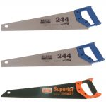 Bahco 2 x 244-20-HP Handsaw 550mm 22in & 1 x 2600-22-XT-HP Handsaw 550mm 22in