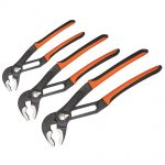 Bahco 72-Series Adjustable Slip Joint Plier Set 3pc