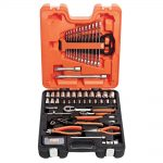 Bahco S81 Mixed Socket Spanner & Pliers Set 81 Pieces