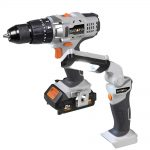 Batavia 18v Combi Drill 2.0Ah Li-Ion Kit + FOC Work Light