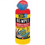 Big Wipes Red Top 4×4 Heavy-Duty Hand Cleaners Tub of 80