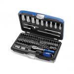 Britool BRIE030707B Socket Set 73 Piece A/F & Metric 1/4in Drive