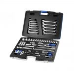 Britool Socket 14 12in Mixed Drive Spanner Set 101 Piece
