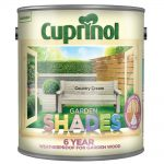 Cuprinol Garden Shades Heritage Country Cream.2.5 Litre