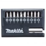 Makita D-30651 Screwdriver Bit Set 11pc