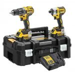 DEWALT DCK266M2T 18v XR Brushless 4.0Ah Li-Ion Twin Pack