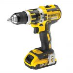 DeWalt DCD795D2 18v XR Brushless Combi Drill 2.0Ah Kit