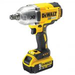 DeWalt DCF899P2 18v XR Brushless 1/2in Pin Detent Impact Wrench 5.0Ah Kit