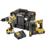 DeWalt DCK229P2T 18v XR Brushless Twin Pack 5.0Ah Kit