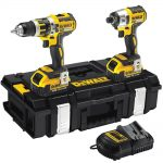 DeWalt DCK250M2 18v XR Brushless Twin Pack 4.0Ah Kit