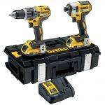 DEWALT DCK266D2 XR Brushless Twin Pack 18 Volt 2 x 2.0Ah Li-Ion