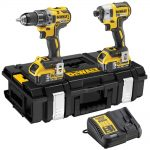DeWalt DCK266P2 18v XR Brushless Twin Pack 5.0Ah Kit