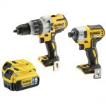 DeWalt DCK276P2B 18v XR Brushless Twin Pack 5.0Ah Kit
