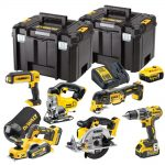 DeWalt DCK665P3-GB 18V XR Cordless Li-ion 6 Piece Kit 3 x 5.0Ah