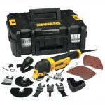 DeWalt DWE315KT 300W 110V Multi Tool Quick Change Kit and TSTAK