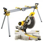 Dewalt DWS780 Compound Slide Mitre Saw 305mm Blade 240v DE7023 Stand