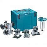 Makita DRT50ZJX3 18v Router Trimmer Complete Kit – Body Only