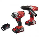 Einhell TE-CD18TI 18v Power-X-Change Twin Pack 1.5Ah Kit