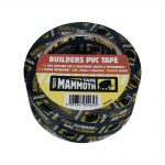 Everbuild Builders PVC Tape Black 75mm x 33m