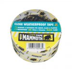 Everbuild Clear Weatherproof Tape 50mm x 10m