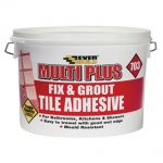Everbuild Fix Grout Tile Adhesive 703 2.5 Litre 3.75k