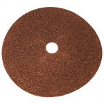 Faithfull Floor Disc Ewt Aluminium Oxide 178mm x 22mm 16g -Blk