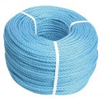 Faithfull Blue Poly Rope 10mm 10m