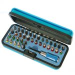 Faithfull Set of 37 Screwdriver Bits