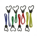 Faithfull Flat Bungee Cord Set of 8
