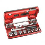 Facom 3/8in Drive Metric Socket Detection Box 18 Piece
