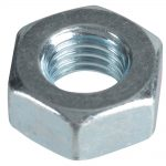 Hex Nuts + Washers – Zinc Plated M6 (Pack 25)