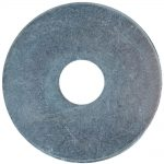 Flat Mudguard Washers – Zinc Plated M12 x 50mm (Pack 6)
