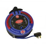 Faithfull 240V 10 Metre 10A 4 Cut Pro Cable Reel