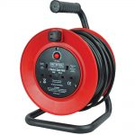 Faithfull Power Plus Cable Reel 25m – 13amp 230 Volt