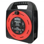 Faithfull 25m 2 Socket Easy Reel Cable – 13amp, 240 Volt