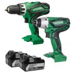 Hitachi KC18DGLTW 18v Twin Pack 5.0Ah Kit