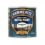 Hammerite Direct to Rust Hammered Finish White 2.5 Litre
