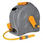 Hozelock 2415 2-n-1 Compact Enclosed Reel + Hose 25m