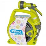 Hozelock Seasons Pico Reel + Spray Gun Lime