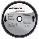 Evolution RAGE 210mm Diamond Circular Saw Blade
