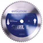 Evolution Raptor Blade 355 x 25.4 x 66t Steel Cutting