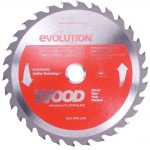 Evolution Steel Blade Wood Cutting 180 x 20 x 30t