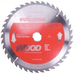 Evolution Steel Blade Wood Cutting 230 x 25.4 x 40t