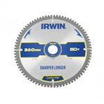 Irwin Construction Circular Saw Blade 260 x 30mm x 80T ATBNeg M