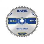 Irwin Construction Circular Saw Blade 305 x 30mm x 60T ATBNeg M