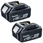 Makita BL1840X2 18v LXT 4.0Ah Li-Ion Battery (Pack 2)