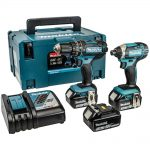 Makita DLX2131JX1 18v LXT Twin Pack 3.0Ah Kit