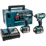 Makita DLX2131JX 18v LXT Twin Pack 3.0Ah Kit